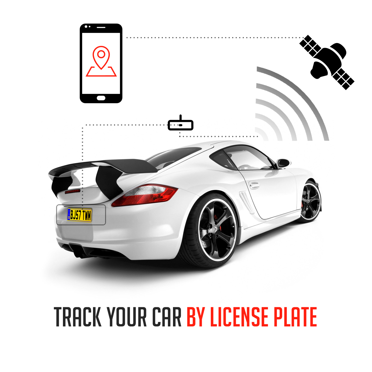 Find a car using plate number