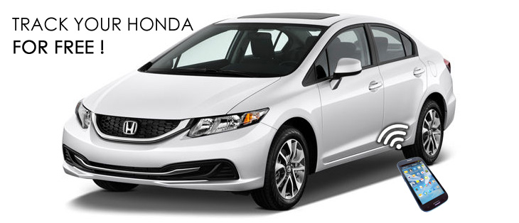 Honda Cars Gps Free Tracking And Geo Location On Line
