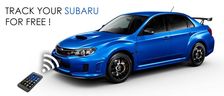 Subaru Cars Gps Free Tracking And Geo Location On Line