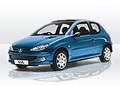 Peugeot 206  gps tracking