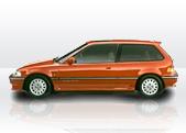 Honda Civic Mk4 gps tracking
