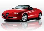 Alfa Romeo Spider  gps tracking